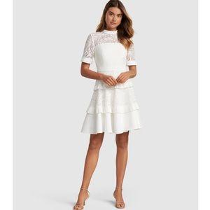 Ever New Raine Spliced Panel Prom Dress